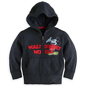 Mickey Mouse Patch Hoodie for Boys - Walt Disney World