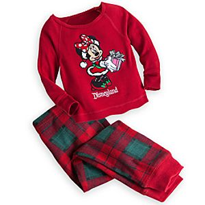 Minnie Mouse Holiday PJ Pal for Girls - Disneyland