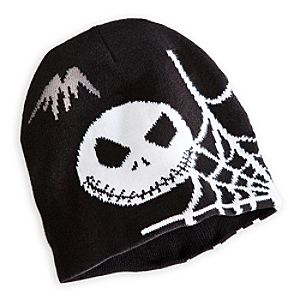 Jack Skellington Knit Hat for Adults