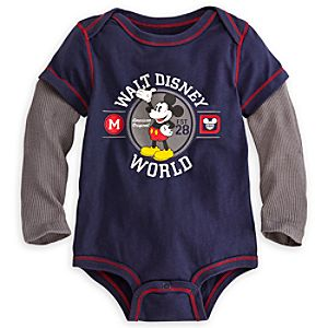Mickey Mouse Double-Up Bodysuit for Baby - Walt Disney World
