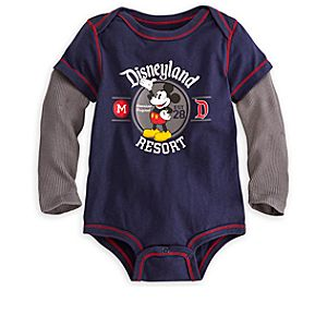 Mickey Mouse Double-Up Bodysuit for Baby - Disneyland