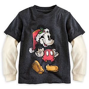 Mickey Mouse Double-Up Tee for Kids