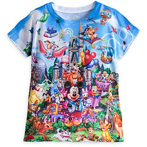 Walt Disney World Storybook Tee for Girls