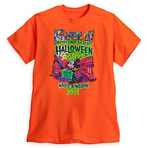 Mickeys Not So Scary Halloween Party Tee for Adults - Magic Kingdom - Limited Availability