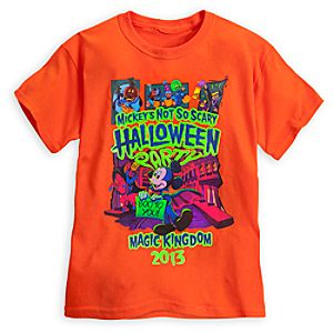 Mickeys Not So Scary Halloween Party Tee for Kids - Magic Kingdom - Limited Availability