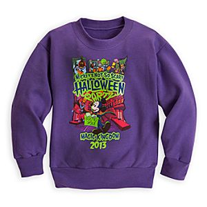 Mickeys Not So Scary Halloween Party Sweatshirt for Kids - Magic Kingdom - Limited Availability