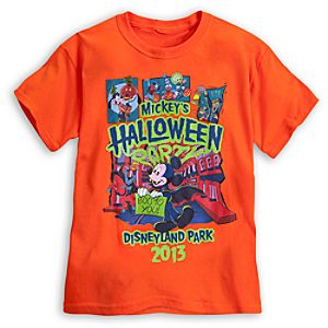 Mickeys Halloween Party Tee for Kids - Disneyland - Limited Availability