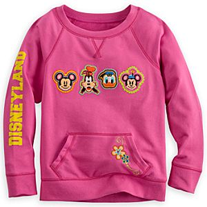Mickey Mouse and Friends Sweatshirt for Girls - Disneyland