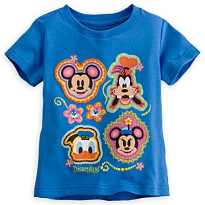 Mickey Mouse and Friends Tee for Girls - Disneyland