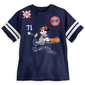 Mickey Mouse Baseball Tee for Boys - Walt Disney World