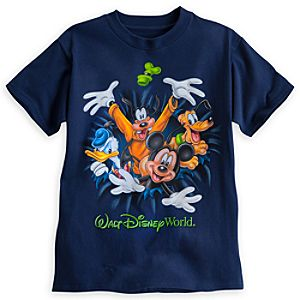Mickey Mouse and Friends Two-Sided Tee for Boys - Walt Disney World