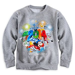 Sorcerer Mickey Mouse and Friends Sweatshirt for Boys - Walt Disney World 2014