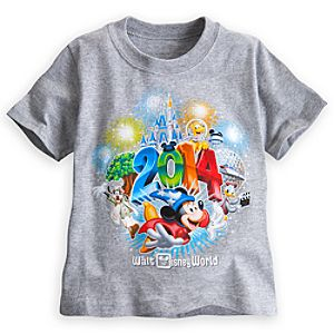 Sorcerer Mickey Mouse and Friends Tee for Toddlers - Walt Disney World 2014 - Gray
