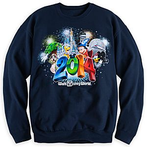 Sorcerer Mickey Mouse and Friends Sweatshirt for Adults - Walt Disney World 2014