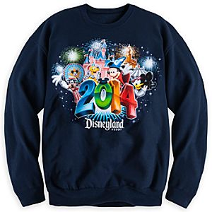 Sorcerer Mickey Mouse and Friends Sweatshirt for Adults - Disneyland 2014
