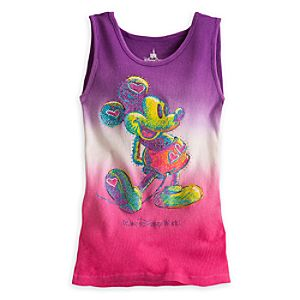 Mickey Mouse Ribbed Tank Top for Women - Walt Disney World
