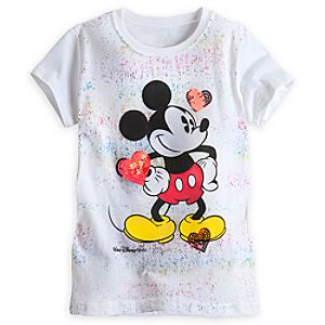 Mickey Mouse Tee for Girls - Walt Disney World