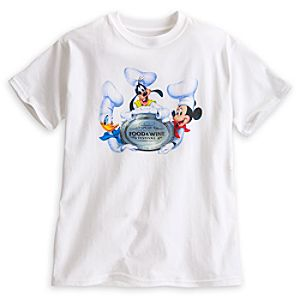 Mickey Mouse Epcot International Food & Wine Festival Tee for Kids - Limited Availability