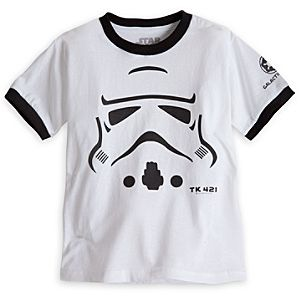 Stormtrooper Ringer Tee for Kids