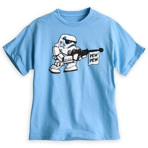 Stormtrooper Pew Pew Tee for Kids