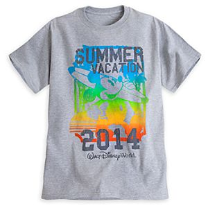 Mickey Mouse Summer Vacation 2014 Tee for Adults - Walt Disney World