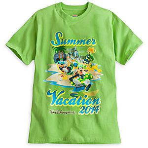 Mickey Mouse and Friends Tee for Adults - Summer Vacation 2014 - Walt Disney World