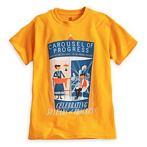 Carousel of Progress Attraction Poster Tee for Kids - 50th Anniversary - Limited Availability