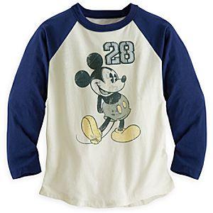 Mickey Mouse Raglan Tee for Boys