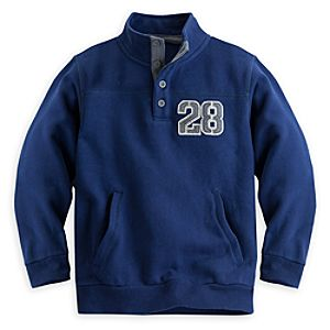 Mickey Mouse Henley Sweatshirt for Boys