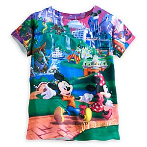 Mickey Mouse and Friends Storybook Tee for Kids - Walt Disney World