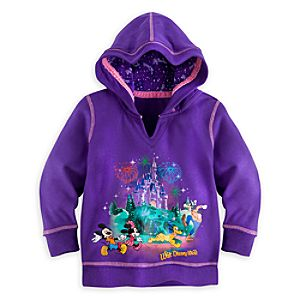 Mickey Mouse and Friends Storybook Hoodie for Girls - Walt Disney World