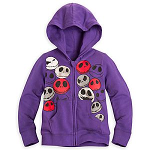 Jack Skellington Hoodie for Girls