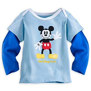 Mickey Mouse Long-Sleeve Tee for Baby - Walt Disney World