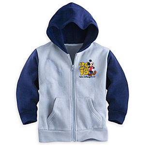 Mickey Mouse and Friends Zip Hoodie for Boys - Walt Disney World 2015