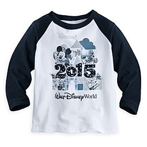 Mickey Mouse and Friends Raglan Tee for Boys - Walt Disney World 2015