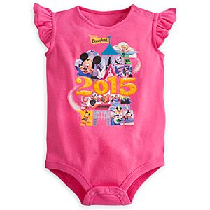 Mickey Mouse and Friends Bodysuit for Baby - Disneyland 2015