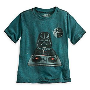 DJ Darth Vader Tee for Boys - Star Wars