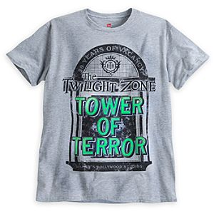 The Twilight Zone Tower of Terror Tee for Kids - 20th Anniversary - Limited Availability