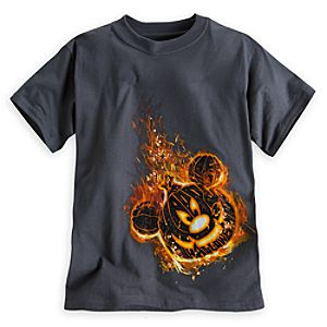 Mickey Mouse Jack OLantern Tee for Boys