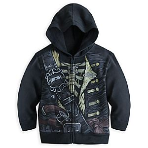 Pirates of the Caribbean Costume Hoodie for Kids