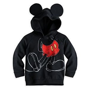 Mickey Mouse Hoodie with Ears for Baby