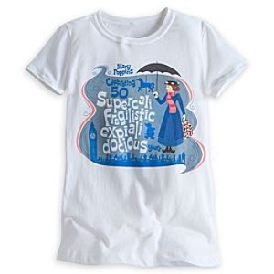 Mary Poppins Tee for Kids - 50th Anniversary - Limited Availability