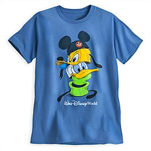 Mickey Mouse and Friends Stacked Hats Tee - Walt Disney World
