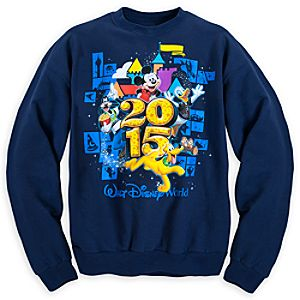 Mickey Mouse and Friends Sweatshirt for Adults - Walt Disney World 2015