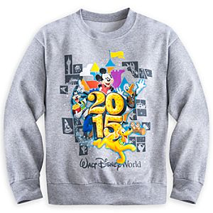 Mickey Mouse and Friends Sweatshirt for Boys - Walt Disney World 2015