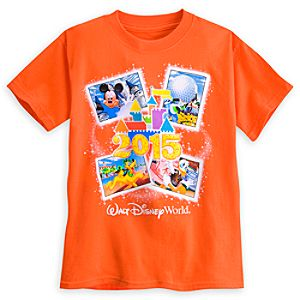 Mickey Mouse and Friends Tee for Boys - Walt Disney World 2015