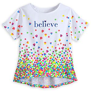 Minnie Mouse Believe Tee for Girls