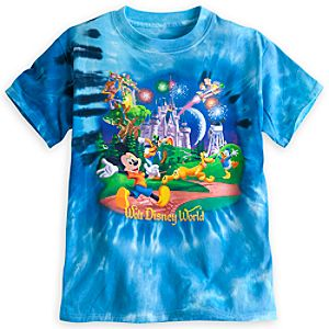 Mickey Mouse and Friends Storybook Tie-Dye Tee for Boys - Walt Disney World