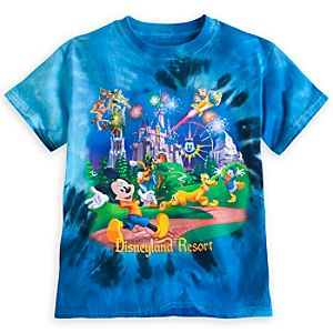Mickey Mouse and Friends Storybook Tie-Dye Tee for Boys - Disneyland