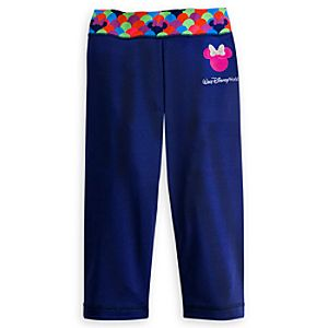 Minnie Mouse Pop Dot Capri Pants for Girls - Walt Disney World